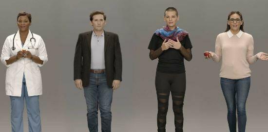 robot humanoide virtual e inteligente de Samsung llamado Neon es un asistente virtual