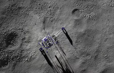 El plan de Amazon para enviar robots y astronautas a la Luna