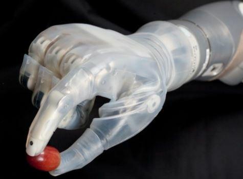 La universidad de Utha ha creado una extremidad robotizada llamada Luke Arm