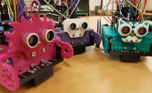 mClon, el robot de 20 € desarrollado por maestros de Vigo