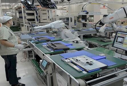 Cae las ventas de robots industriales en Europa un 30%