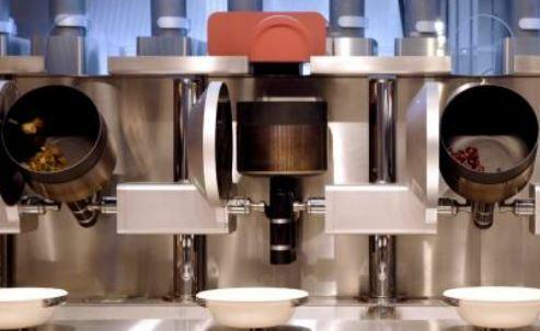 Tecnología robotizada en el restaurante Spyce