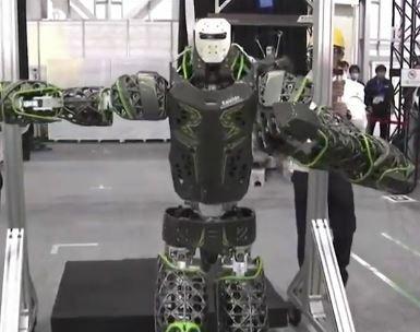 Kaleido, el humanoide de salvamento de Kawasaki para catástrofes